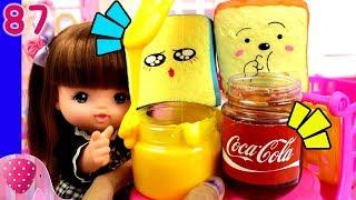 Gambar cover Mainan Boneka Eps 87 Bekal Sekolah Nene dan Yuka dengan Selai Slime - Squishy Dares - GoDuplo TV