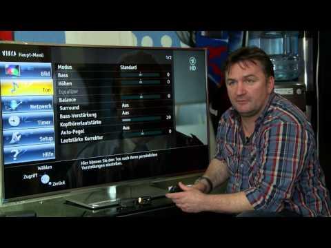 Vorstellung der PANASONIC ETW Serie - LED LCD TV mit passiver 3D Technik