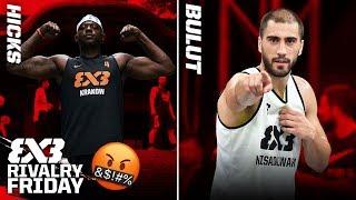 The Best trash-talker in 3x3 Basketball? - Michael Hicks vs Dusan Bulut   FIBA 3x3 Rivalry Friday