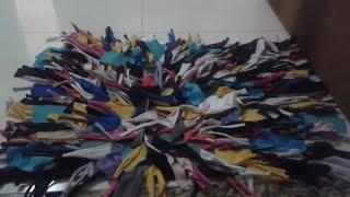 Tapete de retalhos feito na máquina de costura ( passo a passo)
