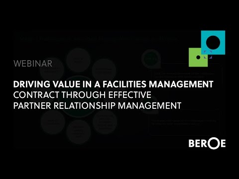Driving value in a Facilities Management contract through effective partner relationship management