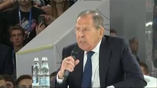 """С.Лавров на форуме """"Россия - страна возможностей"""""""