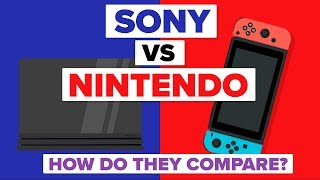 Sony vs Nintendo - How Do They Compare? (Video Game Company Comparison)