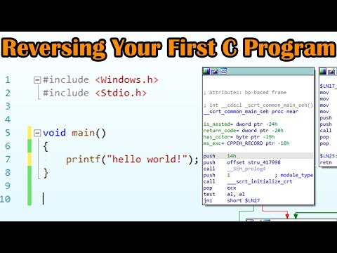 Beginner Reverse Engineering  | Part 1: How To Find The Main Function