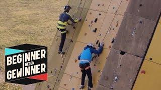 Klettern: Vlog mal ganz anders! | Beginner gegen Gewinner | ProSieben