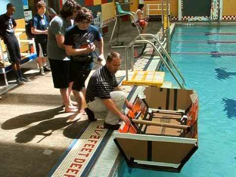 Cooper & Charlie's Engineering Boat Project Part 1 - The Launch - 06 04 14 001