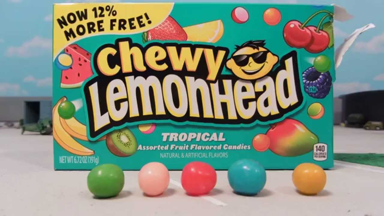 Chewy Lemonhead candy review!