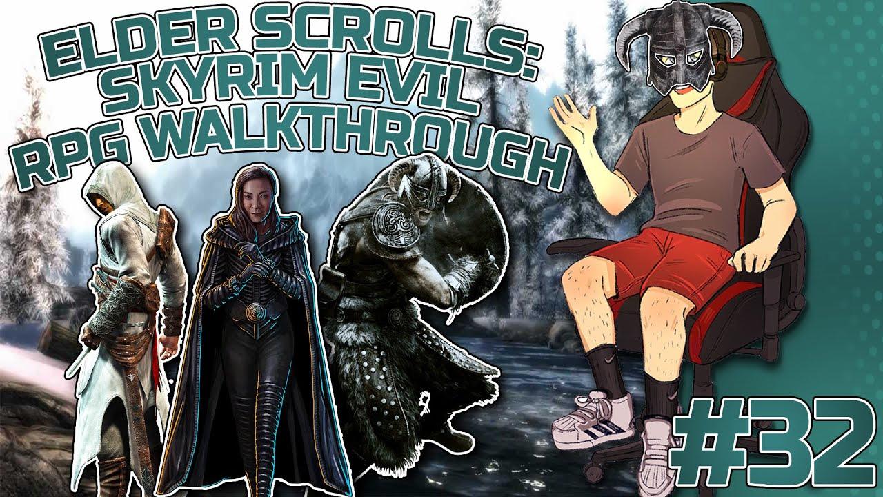 Elder Scrolls: Skyrim Evil RPG Let's play #32 (This game sucks- DragoneBane doe -.-)