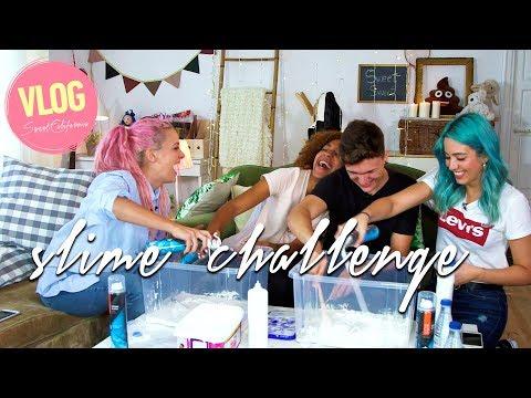 Sweet California - Slime Challenge con Agapito #VLOG