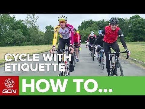Guide To Sportive Etiquette | Ridesmart