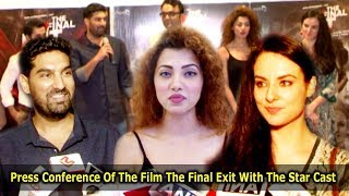Press Conference Of The Film The Final Exit With The Star Cast