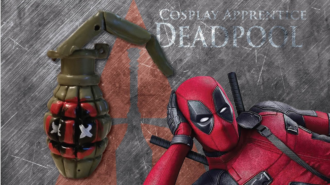 How to make deadpool costume deadpools grenades youtube solutioingenieria