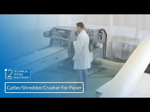 Shredder For Paper And Cardboard