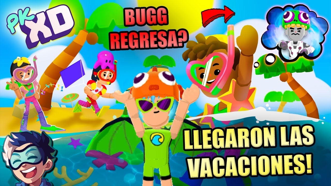 LLEGARON LAS VACACIONES A PK XD! REGRESA BUGG? | Soy Blue | PK XD Español