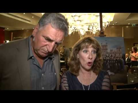Downton Abbey series 5: Jim Carter and Phyllis Logan