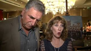 Downton Abbey series 5: Jim Carter and Phyllis Logan interview