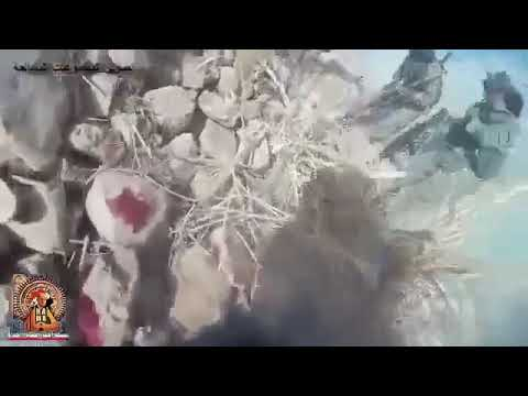 Syria War 2018  captured video of the terrorists