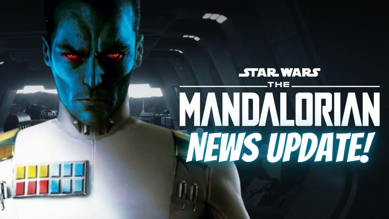 The Mandalorian Season 2 NEWS | Thrawn Returns, Why Ahsoka's Lekkus Are Short, Mara Jade & More!
