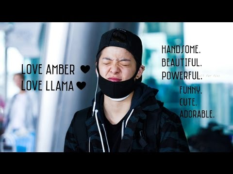 F(X) Amber - Funny + Cute + Adorable moment PT 01