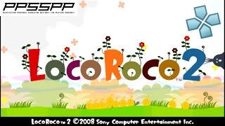 LocoRoco 2 - PSP Gameplay (PPSSPP) 1080p
