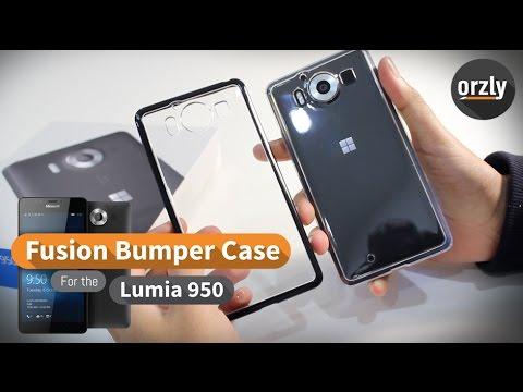 timeless design 4b930 2fda7 Orzly Fusion Bumper Case for the Microsoft Lumia 950