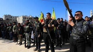 Junge Kurden ziehen in den Kampf gegen die Türkei