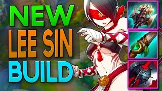 NEW EASY LEE SIN BUILD? High Damage & Tanky - League of Legends