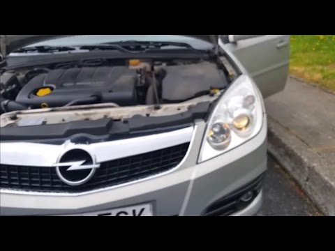 Luz De Cruce Cambio Change Low Beam Light Bulb Vauxhall Opel Vectra C Signum 2005 2008 H7 Youtube