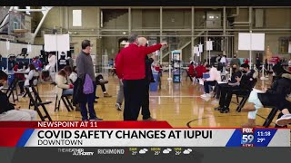 IU and IUPUI students prepare for more frequent COVID-19 testing in spring semester