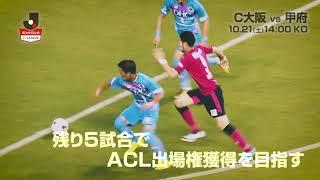 連敗を3で止めたC大阪が15位に浮上した甲府を迎える 明治安田生命J1リ...