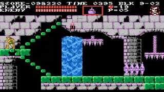 Castlevania III: Dracula's Curse NES - Trevor Belmont & Alucard - mexirene vs Belmont Parte 7