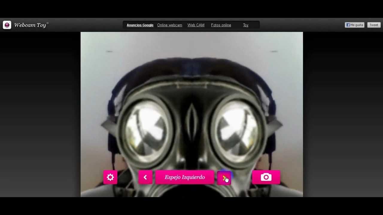 Toy Webcam Toy : Webcam toy en español cómo usarlo y añadir efectos