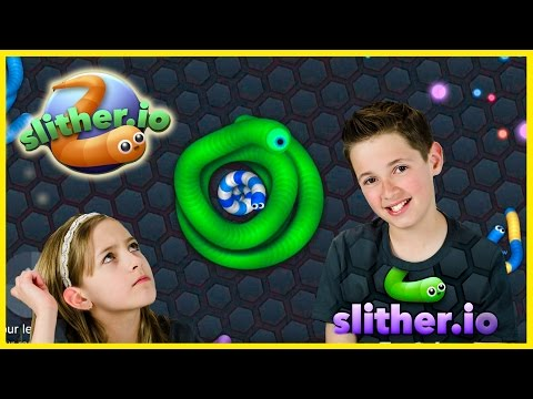 SLITHER.IO GAME CHALLENGE! PLP TV