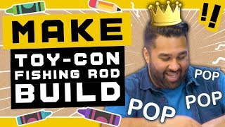 Let's build the Nintendo Labo Toy-Con Fishing Rod