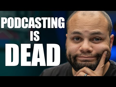 The Future Of Podcasting, Is It Too Late To Start?
