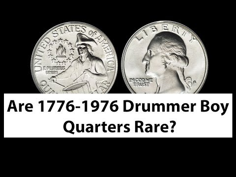 Are Drummer Boy Quarters 1776 1976 Rare And Valuable? Drummer Boy Quarter Value