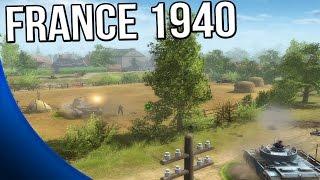 Men of War: Assault Squad 2 - France 1940 Mod Gameplay