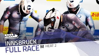 Innsbruck | BMW IBSF World Cup 2018/2019 - 4-Man Bobsleigh Heat 2 | IBSF Official