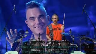 Robbie Williams - Mixed Signals (Drum Cover by Timothy Liem) (with lyrics)
