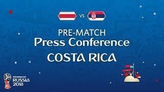 FIFA World Cup™ 2018: Costa Rica - Serbia: Costa Rica Pre-Match PC