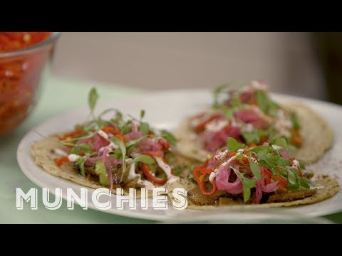 How-To Make Beer-Marinated Seitan Tacos