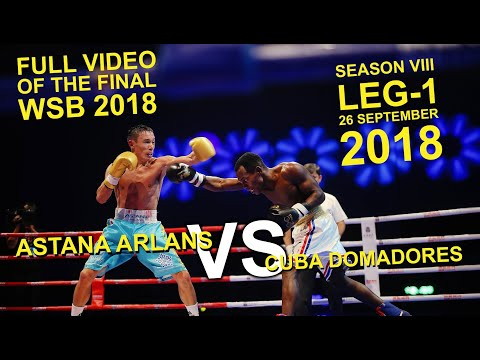 Kazakhstan vs Cuba WSB Final 2018/DAY 1