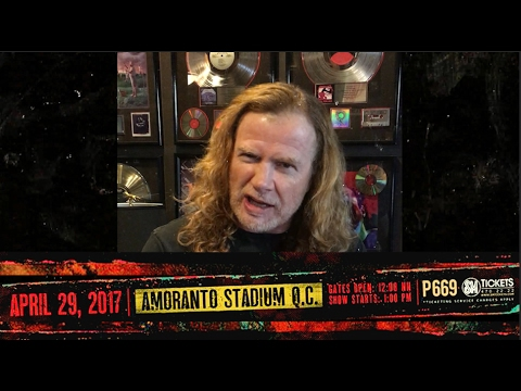 623ec372faed PULP SUMMER SLAM 17 MEGADETH GREETING - YouTube