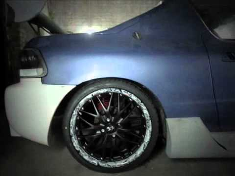honda del sol tuning turbo kit vinyl felgen youtube. Black Bedroom Furniture Sets. Home Design Ideas
