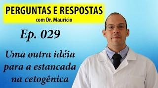 Mais uma solução para a estancada na cetogênica - Perguntas e Respostas com Dr Mauricio Ep 029
