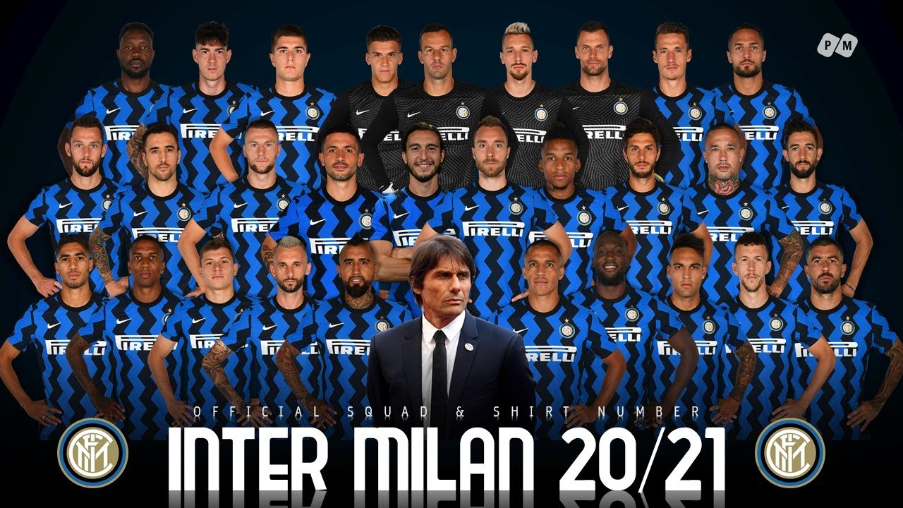 Download Inter Milan 2021: Official Squad and Shirt Number