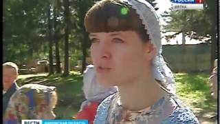 Освящение и установка креста в Нововятске (ГТРК Вятка)