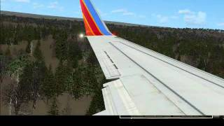 Fsx -southwest 737 Window Seat Landing