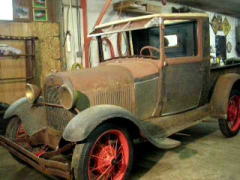 1929 Model A Ford Pickup Update YouTube