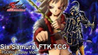 [YgoPro] Yu-Gi-Oh! Six Samurai FTK TCG Legal - New Meta Deck?! - December 2019